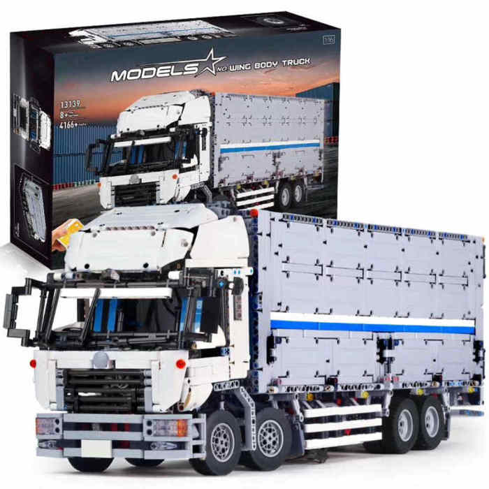 Technic-RC-Arakawa-Truck-Luxury-Truck-Model-Building-Blocks