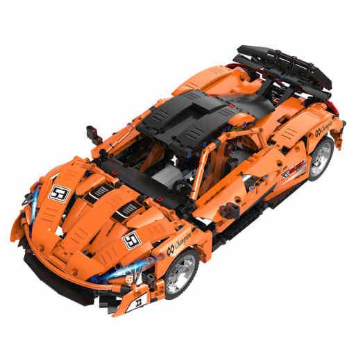 Technic P1 McLaren, 1363Pcs 1:12 RC Sports Car Model Building Blocks DIY Construction Model