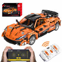 Technic P1 McLaren, 1363Pcs 1:12 RC Sports Car Model Building Blocks DIY Construction Model