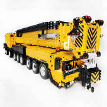 Technic Liebherr LTM1750-9.1, 7068Pcs 1:20 2.4G RC Crane Model Building Blocks, Custom Construction Vehicle Model kit