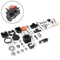 Toyan DIY Assembly Four Stroke Methanol Desktop Engine- FS-S100AC