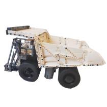 1911Pcs T284 Bluetooth Remote Control Dump Truck MOC Building Block Construction Model