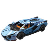 3758Pcs-Technic-MOC-Lamborghini-Sian-1:8-DIY-Building-Block-Toys-Mould-King-13056