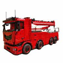 10180Pcs Technic RC Tow Truck MkII Model 8X8 Wrecker Bat Crane Rescue Truck Building Block