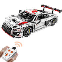2768Pcs Technic audi R8 RC Car Model 1:10 Moc Building Block Sports Car Construction Toys
