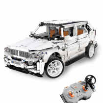 CADA 2208Pcs Technic BMW X5 RC Car Building Block 4WD Off-road Construction Model Toy