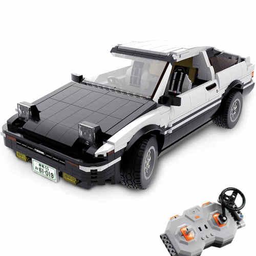 CADA 1234Pcs Technic AE86 RC Car Model 1:10 Drift Race Car Building Blocks Vehicle