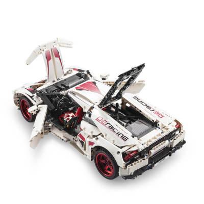 CADA-Technic-HuracanLP-610-1696Pcs-MOC-RC-Sports-Car-Assembly-Model-Building-Blocks-Toys