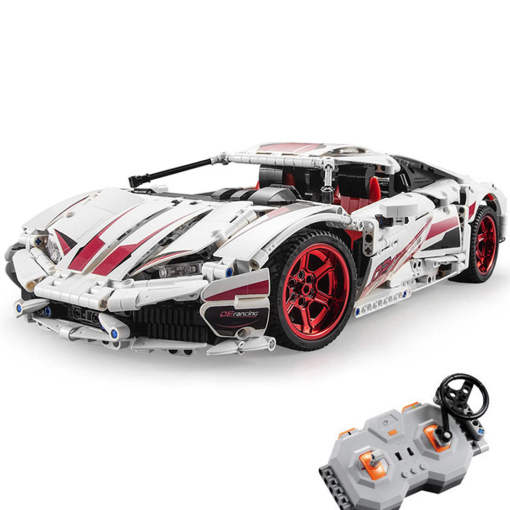 CADA Technic Huracan LP 610, 1696Pcs MOC RC Sports Car Assembly Model Building Blocks Toys