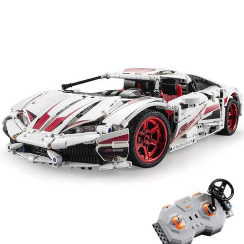 CADA Technic Huracan LP 610, 1696Pcs MOC RC Sports Car Assembly Model Building Blocks Toys