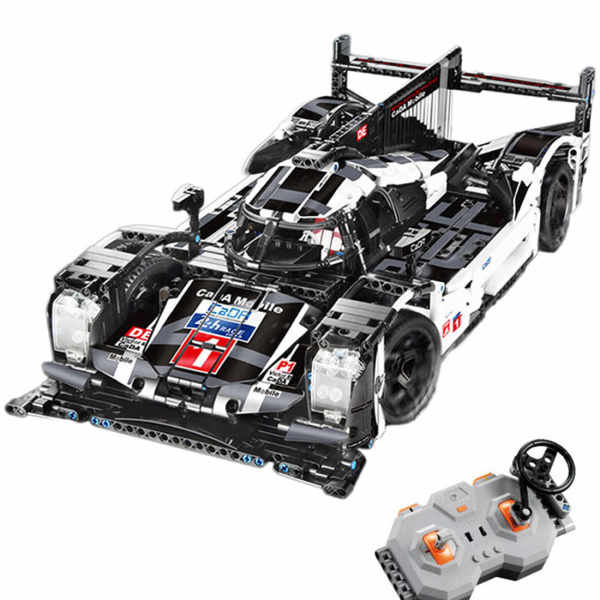 Technic Porsche 919 Hybrid Model 1586Pcs Technic Custom Construction Racing Car Block Building Toys