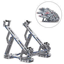 MOC Block Stand for LEGO Millennium Falcon 75257 Building Blocks Bracket Holder 2020