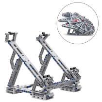 MOC Block Stand for LEGO Millennium Falcon 75257 Building Blocks Bracket Holder 2020