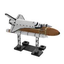 1514Pcs Moc Space Shuttle Challenger Building Block Model Construction Toys -Rcfancier