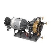 7094Pcs Moc Apollo Spacecraft Building Blocks Model Construction Toys -Rcfancier
