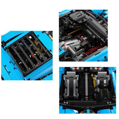 2700Pcs-Moc-Technic-Corvette-1:8-Sports-Car-DIY-Building-Block-Model-Toys