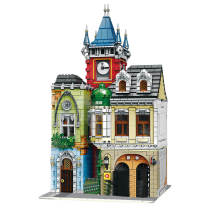 4030Pcs MOC Old Pub Building Blocks Model DIY Assembly Construction Toys -Rcfancier
