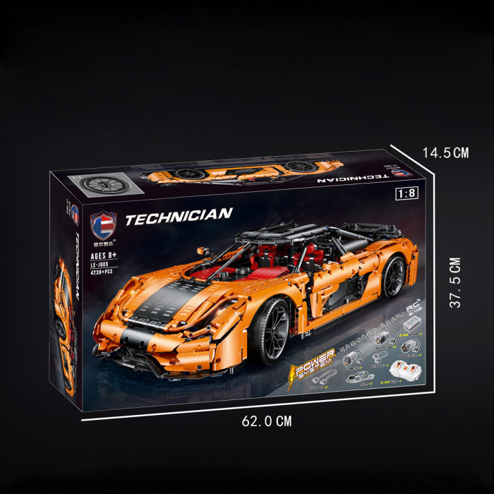 4239Pcs-Technic-Konigseg-Dynasty-1:8-DIY-Sports-Car-Building-Blocks-Construction-Toys