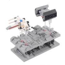 469Pcs Hand-cranking X Fighter TLE Bomber Battle MOC DIY Building Block Toys -Rcfancier