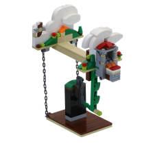 202Pcs Suspension Anti-Gravity MOC Small Particle DIY Building Block Stem Toy