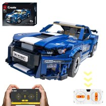 1623Pcs MOC 1:10 RC Sports Car Bricks- Ford GT500