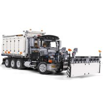 1694PCS Technic City Snow Removal Car Building Blocks Truck Bricks Toys