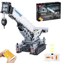 4000Pcs MOC 2.4G Multichannel RC Crawler Crane 11200 Building Block Toys