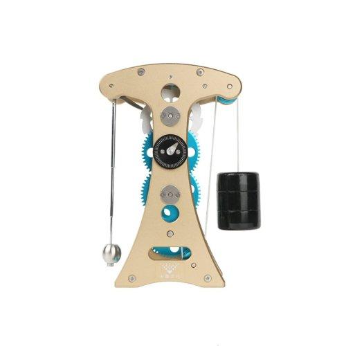 Teching Pendulum Clock Timekeeping 3D Metal Assembly Model Toy