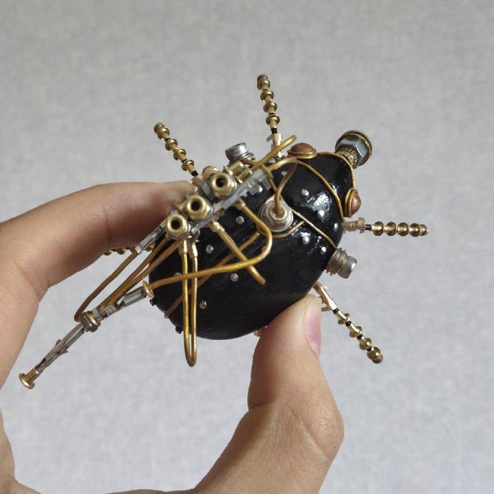 3D Mechanical Metal Model Kit Handmade Assembled Crafts for Home Decor