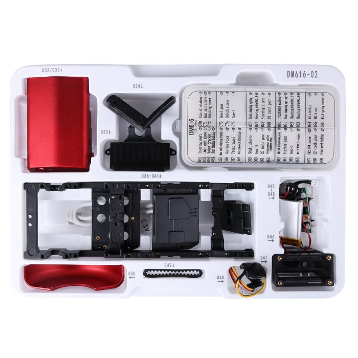 Teching DM616 Assembly Metal Remote Controlled Electric Tractor Model