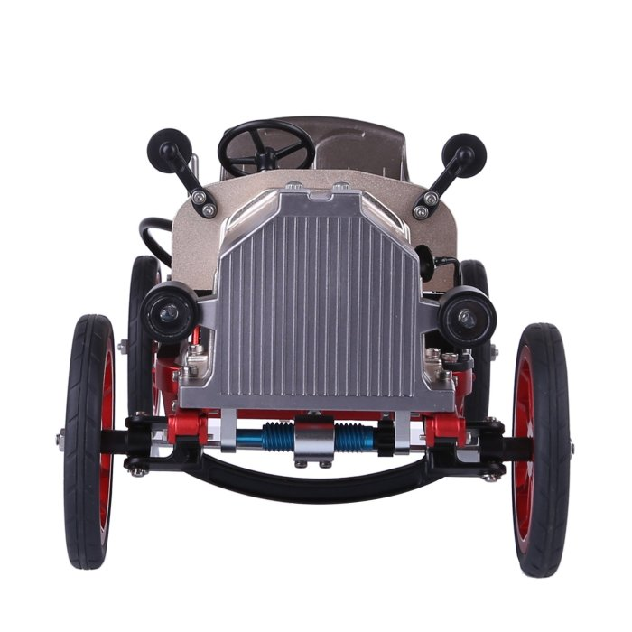 Teching Vintage Classic Car 3D Metal Assembly Electric Model