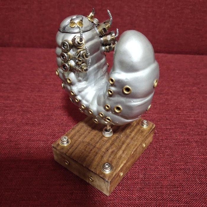 3D Mechanical Metal Model Handmade Assembled Crafts for Home Decor - Rhinoceros Beetle