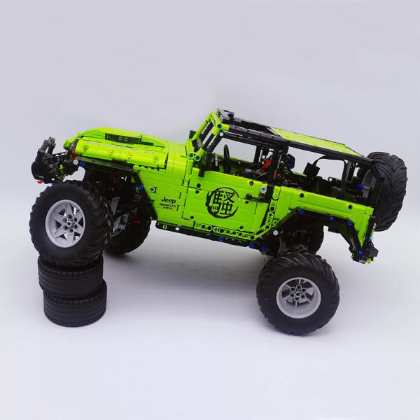 technic-car-building-block-model-kit