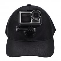 Baseball Cap Camera Holder Sun Hat Mount for DJI OSMO Action Camera