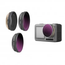 3Pcs CPL ND8 ND16 Lens Filters for DJI OSMO Action Camera