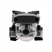 Pattern Type Lens Protective Cap Gimbal Protective Cover for DJI Mavic 2 Pro Professional Edition Drone - Transparent