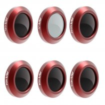 6Pcs UV/CPL/ND4/ND8/ND16/ND32 Filter for DJI MAVIC 2 ZOOM Drone