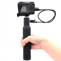 Rechargeable Handheld Power Bank Grip with Protective Frame for DJI Osmo Action