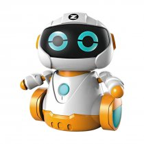 Children Intelligent RC Programming Dancing Robot with Watch Shaped Remote Control - Wheel Type