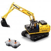 544Pcs 2.4G Building Blocks Remote Control Toy Crawler Excavator Assemble RC Construction Vehicle Model DIY Educational Toys