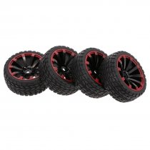 4Pcs 1/10 RC On-road Rhombus Tread Pattern Tyre for 1/10 HSP HPI Redcat RC4WD AXIAL RC Car