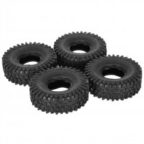 4PCS 120MM 1.9  Rubber Rocks Tyres Wheel Tires for 1:10 SCX10 90047 d90 D110 TF2 Traxxas TRX-4 RC Car