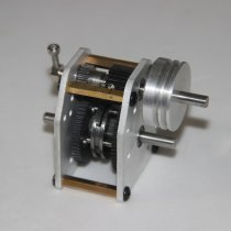 1:10 Model Car Engine Gearbox with Pulley for Toyan FS-S100 FS-S100G FS-S100(W)FS-S100G(W)