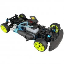 1:10 Sports Car Fuel Drift Car Chassis Frame Compatible with Toyan FS Series Engine (No Engine and Remote Control)