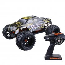 ZD Racing 9116 V3 1/8 2.4G 4WD Brushless Motor RC Car Monster Off-road Truck - RTR Version Black