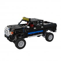 1659Pcs MOC RC Truck Vehicle Model High Level Assembly Small Particle Building Block Set with Motor and Remote Control