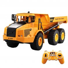 2.4G RC Articulated Dump Truck Electronic Engineering Vehicle Construction Models Toys for Children