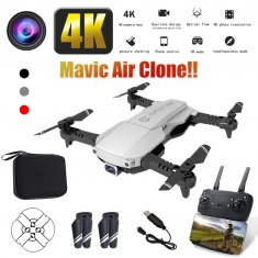 4K HD Aerial Photography Drone Optical Flow Positioning UAV Folding Quadcopter