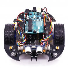 Bat Smart Robot Car Project Complete Starter Kit with Tutorial Learning - Educational Electronic Toy for Arduino (Including:UNO R3 Mainboard)