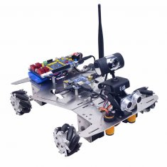XR Master Omni-directional Mecanum Wheel Robot - WIFI + Bluetooth Version